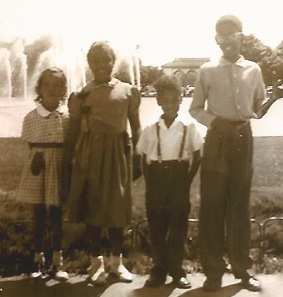 Me and my siblings at the Lincoln Park Zoo back in the day.