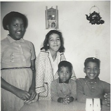 Me and my siblings in the 1960s