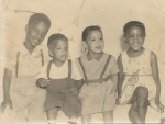 Retro photo of us kids