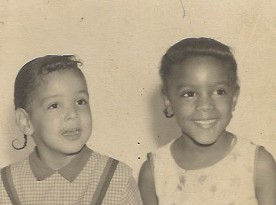 Retro photo of us kids